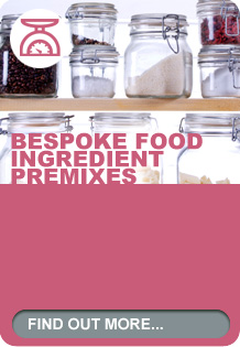 Bespoke food ingredient premixes