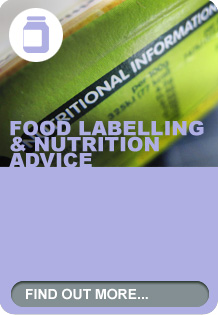 Food labelling & nutrition advice