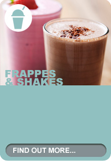 Frappes & shakes